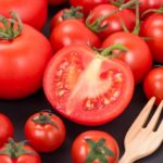 トマトって加熱するとおいしいね。トマトの効果・効能とトマトとたまご炒めレシピ